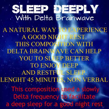 Sleep Deeply with Delta Brainwave
